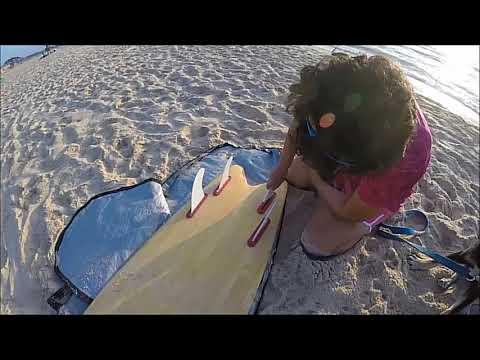 wood surfboard project