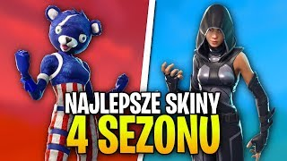 TOP 5 BEST SEASON 4 SKINS - France Fortnite Bataille Royale