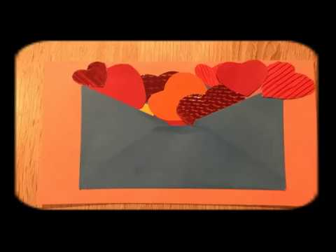 Diy Cute Handmade Valentine S Day Card Easy Crafts With Kids