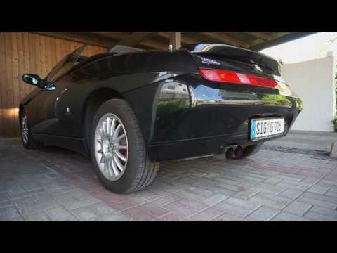 Zender ESD am Alfa Romeo Spider 916 2