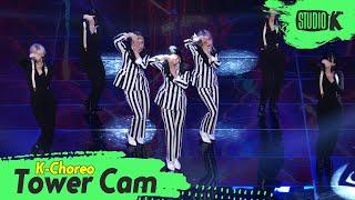[K-Choreo Tower Cam 4K] 3YE(써드아이) 직캠 'intro+STALKER'(3YE Choreography) l @MusicBank KBS 210416