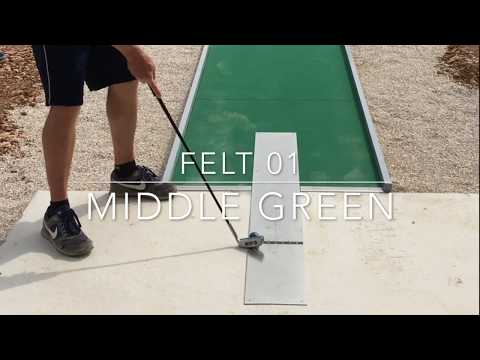 Felt Lane 1 - Middle Green (World Championships 2017)