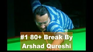 Gambar cover Snooker Coaching / Training, #1   80+ Break Against Shani  by Arshad Qureshi