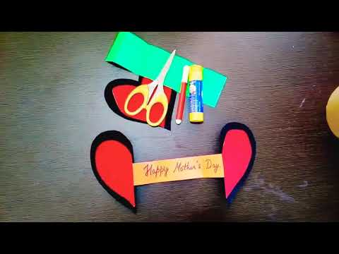 How to make diy paper heart with a message