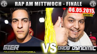 RAP AM MITTWOCH BERLIN: Gier vs Drob Dynamic 06.05.15 BattleMania Legends Finale (4/4) GERMAN BATTLE