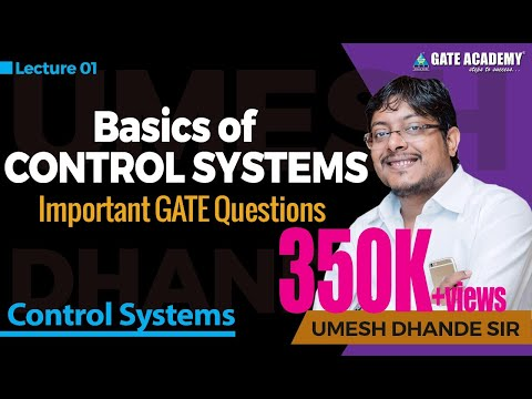 Basics of Control Systems- Control Systems, Important GATE questions