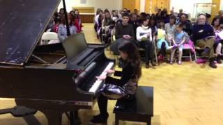 Ellie's piano recital