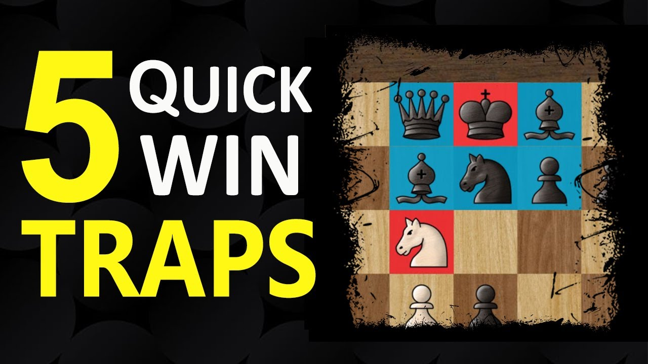 5 Opening TRAPS in the Sicilian Defense | Chess Tricks to WIN FAST - Moves, Tactics, Ideas, Gambits