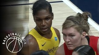[WNBA] Las Vegas Aces vs Indiana Fever, Full Game Highlights, August 27, 2019