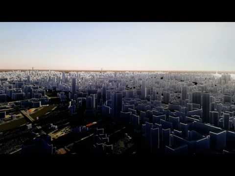 RealEsMedia - 3D Moscow (Preview) powered by UNIGINE 2