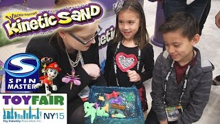 New KINETIC SAND!!! Bunchems, Cool Baker, Sew Cool, Flutterbye, Little Charmers, Chubby Puppies