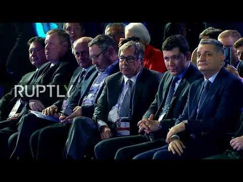 Live: Putin Attends Valdai Club Plenary Session