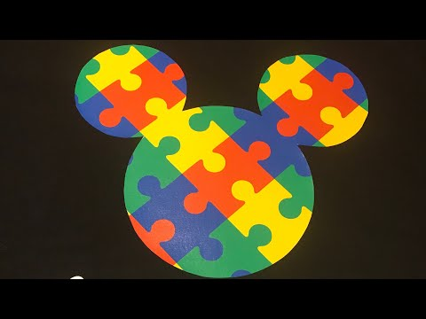 Pressing an autism awareness (dark colored Tshirt) using Neenah 3g jet opaque transfer paper
