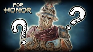 [For Honor] Warden Turns Into a Ghost - Centurion Brawls
