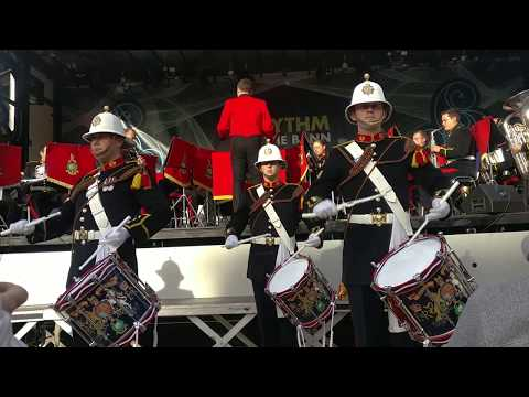 The Band of HM Royal Marines Scotland Concert - Armed Forces Day NI 2018