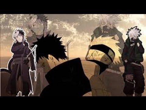 Kakashi Vs Obito -Help our souls