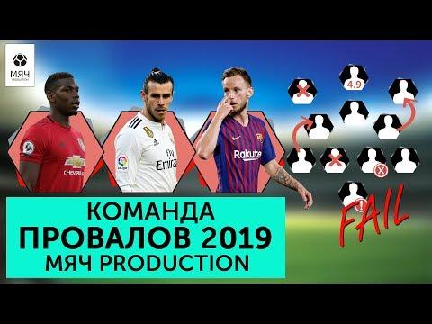 Команда худших игроков 2019 года Мяч Production