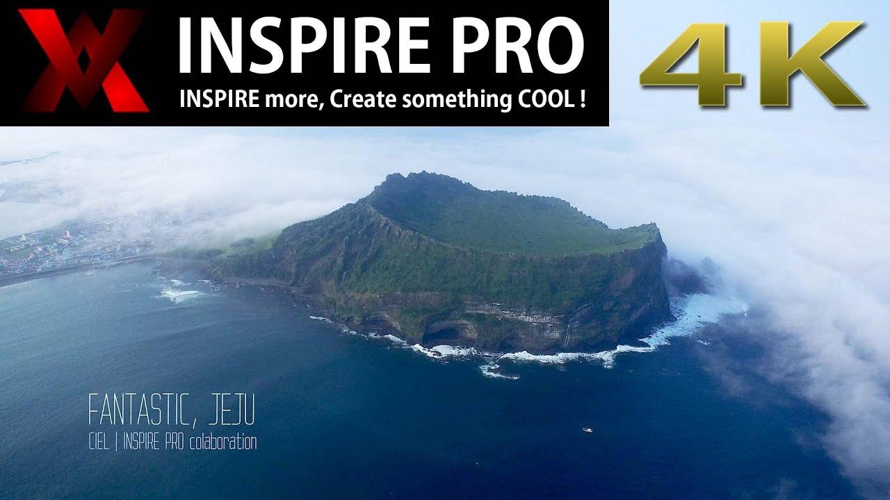 INSPIRE1 Flight - Fantastic JEJU [4K]