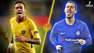 Eden Hazard VS Neymar JR 201718  Who is The Most Skillful 1718  HD 1080p