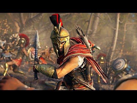 SPARTAN ASSASSIN!! Assassins Creed Odyssey, Part 6