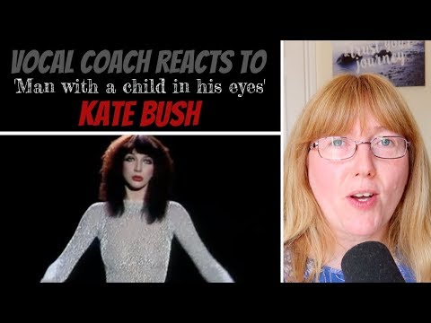 Vocal Coach Reacts to Kate Bush 'Man with a child in his eyes' LIVE