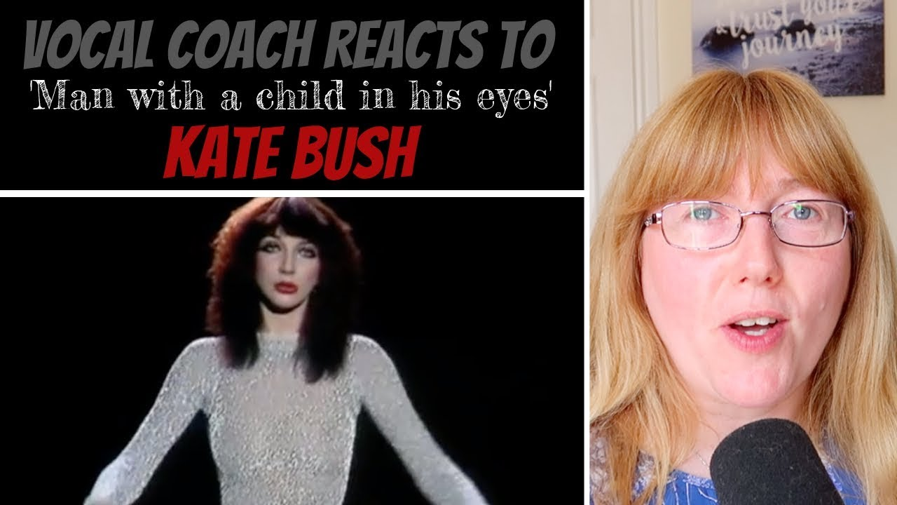 Vocal Coach Reacts to Kate Bush 'Man with a child in his eyes' LIVE 1979