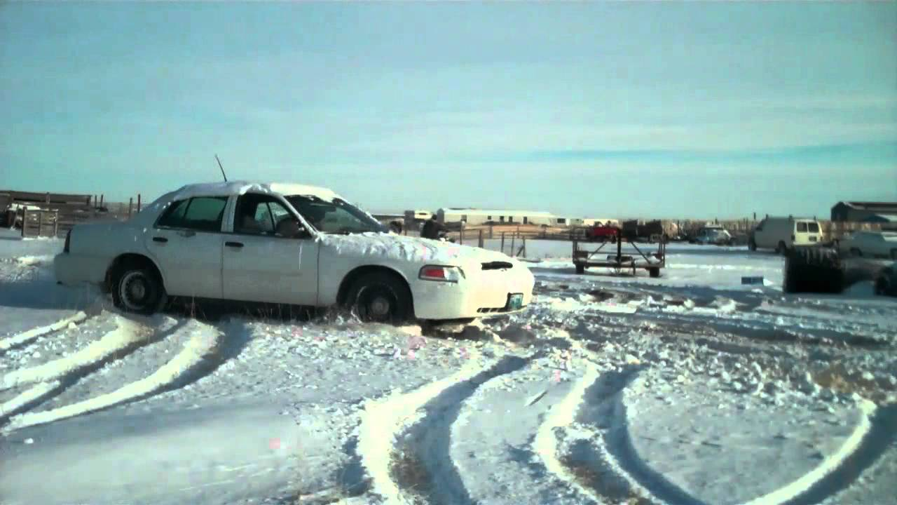 Ford Crown Victoria Yamaha Raptor R Fun In The Snow
