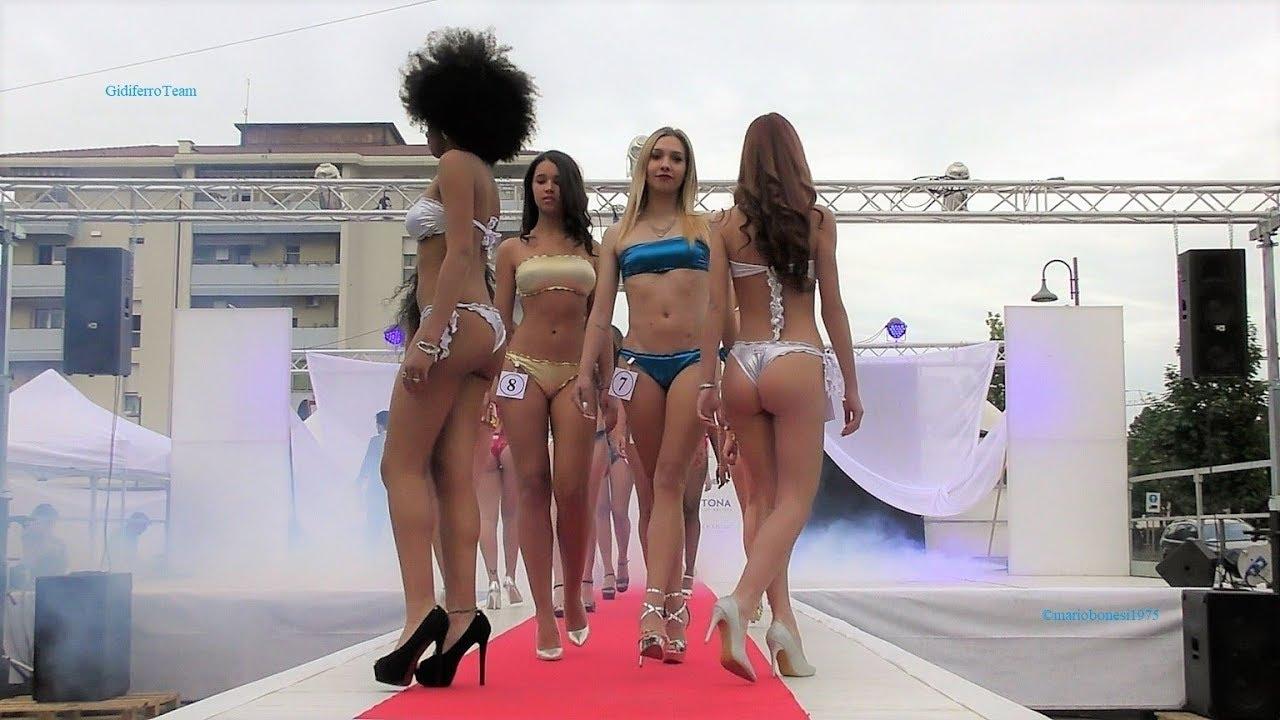 Miss Red Carpet 2018 Sfilata in Bikini Abito e Premiazioni 3^ tappa Tencarola Padova