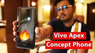 Vivo Apex Hand's On | No Notch,No buttons and No Ports.
