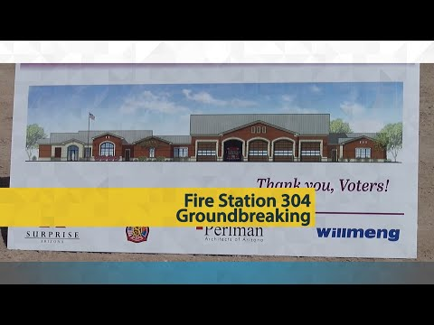Fire Station 304 Groundbreaking video thumbnail