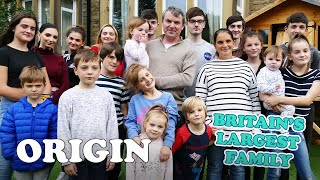 The Largest Family In Britain | 21 Kids and Counting | Full Documentary | Origin