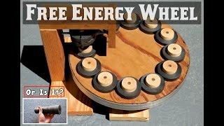 FREE ENERGY WHEEL ~ Using Ring Magnets?