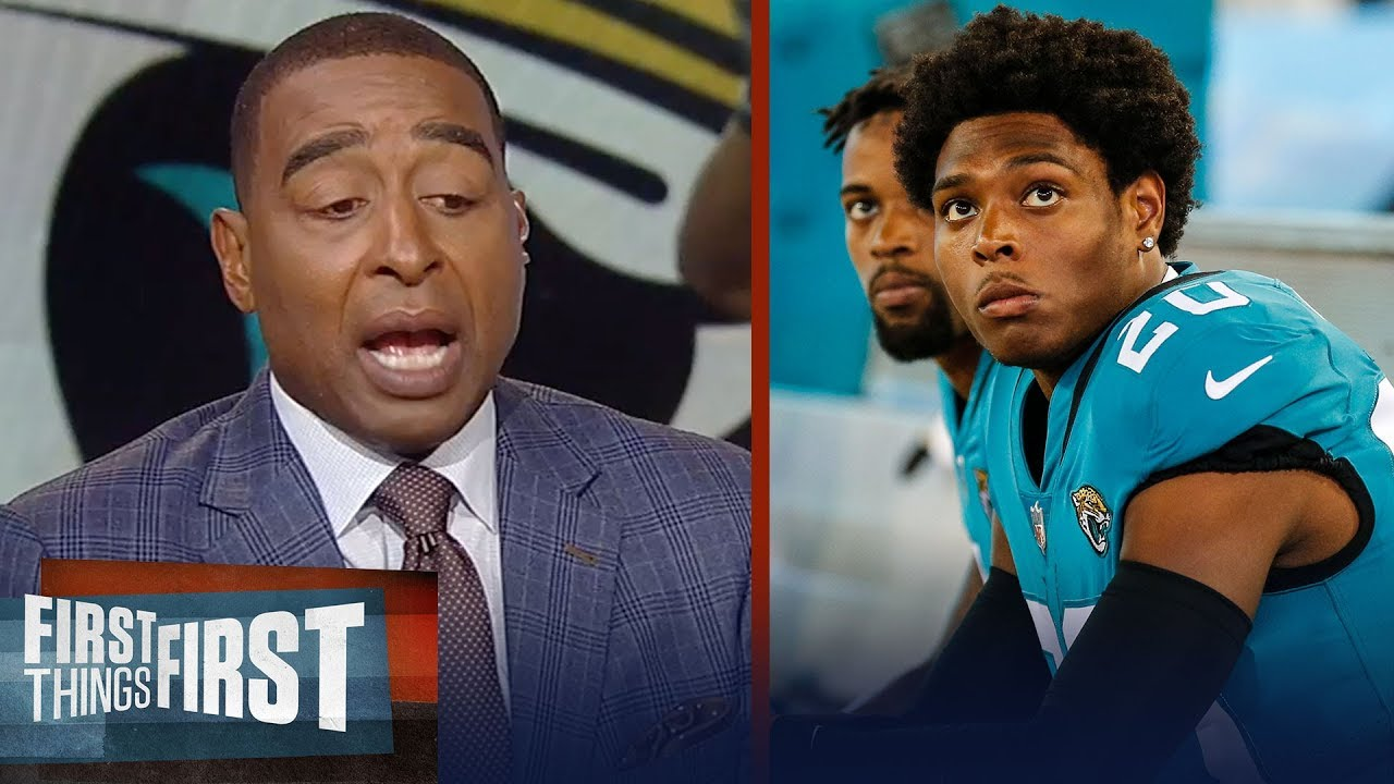 cris-carter-on-jalen-ramsey-s-latest-comments-about-gronk-nfl-first-things-first