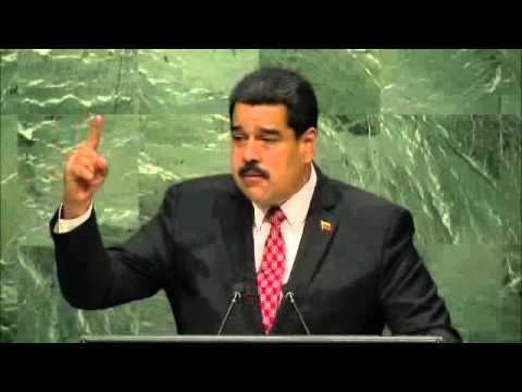 выступление Президента Венесуэлы Николаса Мадуро на Генассамблее ООН 29.09.2015