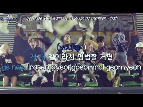 [Karaoke][ENG] 후이, 여원, 유토, 키노, 우석 (Pentagon - Hui, Yeo One, Yuto, Kino, Wooseok) - 젊어 (Young) MV