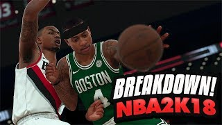 Nba 2k18 myplayer full breakdown! new gameplay features, new animations & more