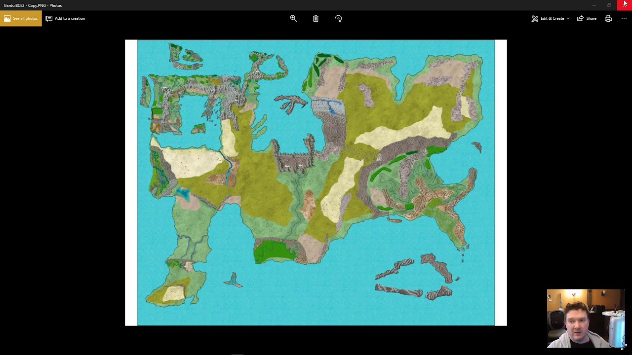 How To Create A Fictional World Map.How To Make A Realistic Fantasy Map Fast Youtube