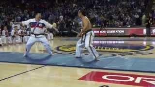 Ernie Reyes World Action Team Golden State Warrior