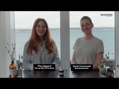 Tina og Sarah fortæller om Ecooking Anti-Rødme Creme