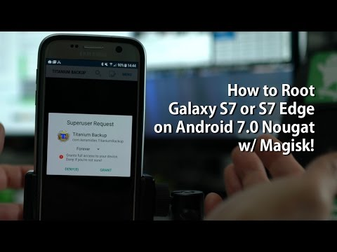 How to Root Galaxy S7 or S7 Edge on Android 7 0 Nougat w/ Magisk!
