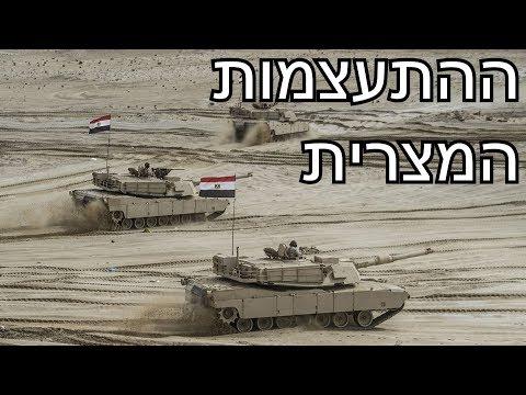 התעצמות צבא מצרים   האם מצרים חוזרת להיות איום צבאי לישראל?