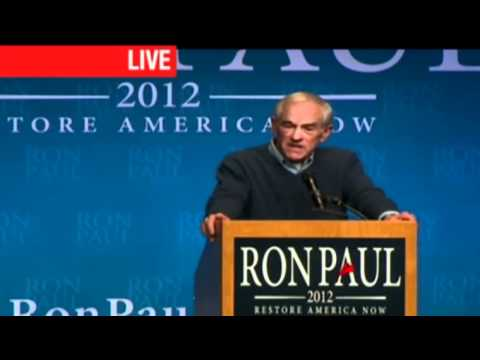 Ron Paul Minneapolis, MN Town Hall Convention Center Rally 2/6/12