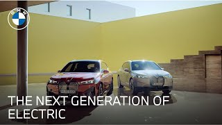 homepage tile video photo for Introducing the BMW iX | The All-Electric SAV | BMW USA