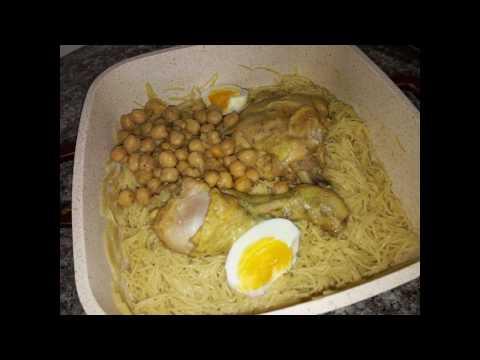 مطبخ ام وليد اسهل و اسرع طريقة لطبخ الدويدة او الشعيرية بالدجاج