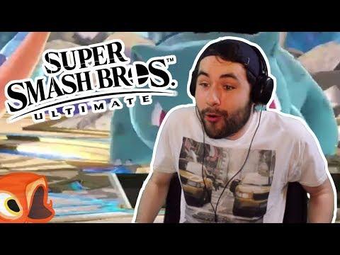 FishyFisher's reaction to Super Smash Bros Ultimate