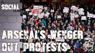 Arsenal fan's Wenger Out Protests | Social Club with Arsenal Fan TV