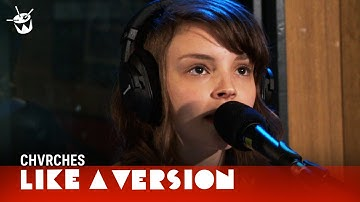 CHVRCHES cover Arctic Monkeys 'Do I Wanna Know?' for Like A Version