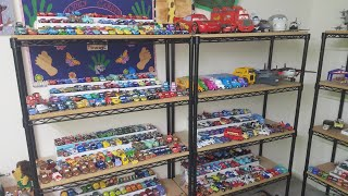 FULL & COMPLETE DISNEY PIXAR CARS DIECAST COLLECTION!!! *Birthday Video, Nov 7th*