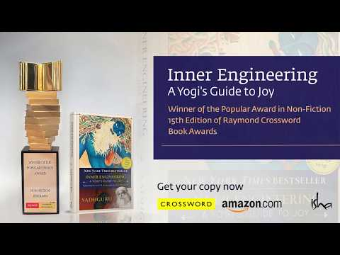 """Inner Engineering"" Receives Crossword Award – Sadhguru's Message"
