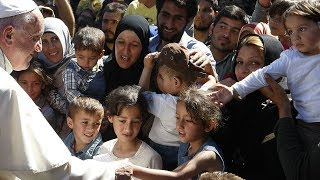 Pope Francis has a plan to help refugees, and halt the tide of immigration HD Video